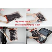 Hand-rolling bag for traveling