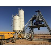 F-100 (100m3/h) Fast Installing- High Capacity Mixing Plant