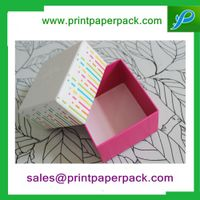 Colorful Handmade Paper Gift Box for Gift Packaging