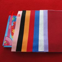 Eco-friendly DIY Polyester 1mm thick craft pokyester Felt Squares Sheets, soft craft sewing felt thumbnail image