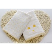100%.bamboo fiber face towel