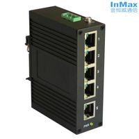 5 RJ45 Ports Unmanaged Industrial Ethernet Switch i305B