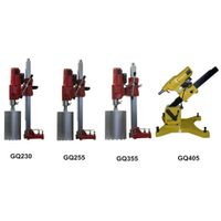 concrete core drilling machine, diamond core drill bit GQ405