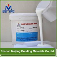 Foshan waterproof acrylic adhesive for mosaic backing mesh