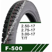 Tubeless tire 2.50-17 2.75-17 2.50-16 2.75-18 3.00-17 3.00-18
