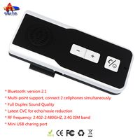 2014 best sell solar Bluetooth handfree Car Kit (AUTO POWER OFF+VOICE REPORT)