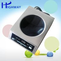 3500W commercial induction cooker with slide adjust control