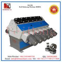 tubular heater shrinking machine