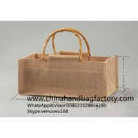 China custom linen hand carried bags manufacturer