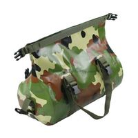 Travel / sport outdoor camouflage PVC mesh duffel bags for women / men