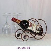 Wine Rack W4(Wagon design-snail shape)
