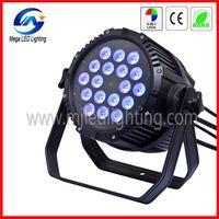 DMX 18 10-w 4in1 RGBW ip65 waterproof led par light thumbnail image