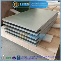 Factory Supply Molybdenum Plate, high quality Moly Plate