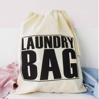 Laundry Bag/ Canvas Laundry Bag/ Storage Bags
