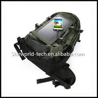 High Quality Cycling Solar Power Bag Panel Charger Solar Backpack thumbnail image