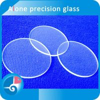 Anole customized sizes high stability glass wafer for optical windows and lenses