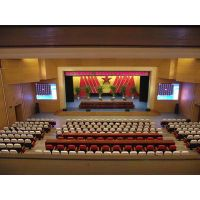 Retardant stage curtain