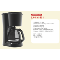 Coffee Maker 6 cups 8 cups 12 cups
