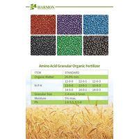 Manufacturer sell amino acid shiny granular organic NPK fertilizer granular/balls thumbnail image