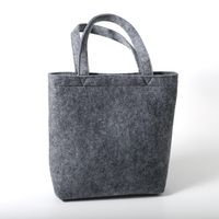 eco friendly custom felt shopping tote bag for promotion