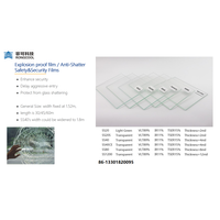 Safe and security anti-shatter anti-exposion window film thumbnail image