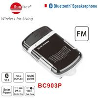 Solar auto power on bluetooth in-car speakerphone thumbnail image
