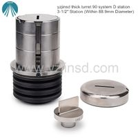 Yzjinsd 90 system 50.8-88.9mm D station RE5x60 RE5x80 RE6x80 thick turret tooling