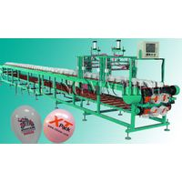 2 sides and 1 color latex balloon printing machine with affordable price