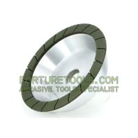 flaring cup shape Resin bond segmented diamond grinding wheel thumbnail image