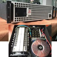 PR-8 power amplifier big power 2500W*2/4ohm 1600W*2/8ohm 3U size