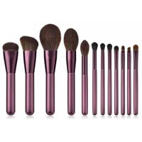 12 PCS Makeup Brushes Set- Super Soft Mcf Synthetic Hair