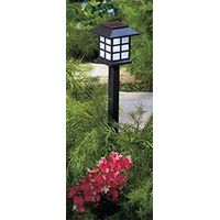 1pcs/box Plastic solar garden light for outdoor garden decoration IBP-GL-039