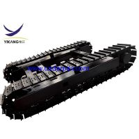 10 ton crawler hydraulic drilling rig undercarriage by factory design thumbnail image