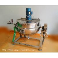 Tilting jacketed kettle with  agitator thumbnail image