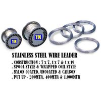 Stainless steel wire leader thumbnail image