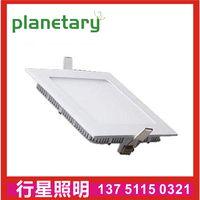 LED square small panel light ultra-thin bathroom panel light office 9w12 watt concealed panel light thumbnail image
