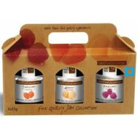 fruit jams with gift packge