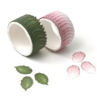 Sticker Roll flowers masking overlap washi tape