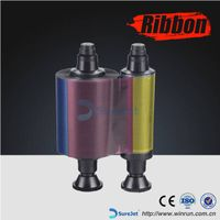 R3411 for Evolis YMCKO Color Compatible Ribbon  100 prints/roll