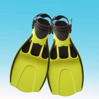 swim fins open heel fins adjustable strap fins flippers