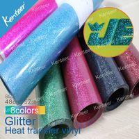 Glitter Heat Transfer Vinyl Wholesale/heat resistant adhesive vinyl