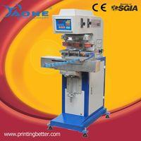 tagless garment label printing 3 color pad printer HM-160C-3