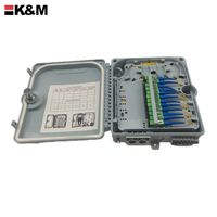 wall mounted Fiber Optic Splitter Box FTTH distribution box thumbnail image