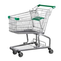 German Style Supermarket Shopping Trolley 100L thumbnail image