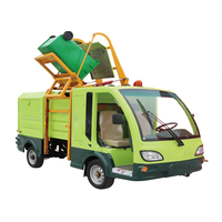 Side loading electric garbage truck thumbnail image