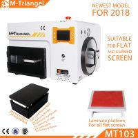 Professional Glass Laminating Machine for LCD Touch Laminating with Bubble Remove Machine