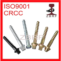 Screw Spike for Rail Fastening