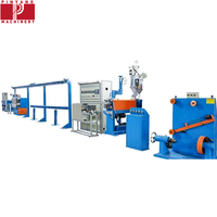 Electrical Wire Pvc And Cable Extruder Machine With Online Laser Diameter Gauge thumbnail image