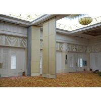 glass operable wall glass movable partition glass floding door