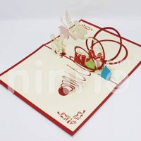 Angel Pop Up Card Handmade Greeting Card